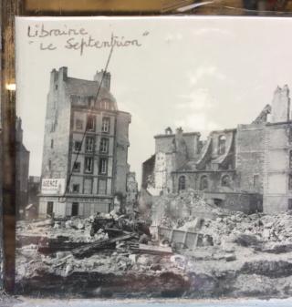 St-Malo.Place Brevet.WW2 destruction.