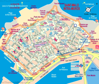Saint Malo.Tourist map.edited