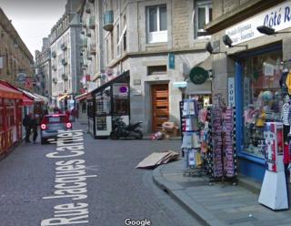St-Malo.rue Jacques Cartier.google maps