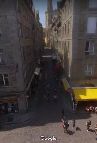 St-Malo.Grand rue.google maps