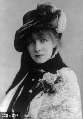 Belle-Île.Sarah Bernhardt