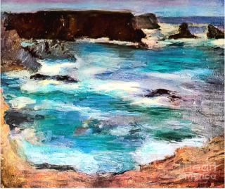 Matisse.Rochers a Belle Ile.1896