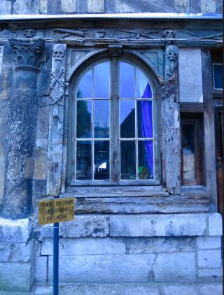 Rouen.L'aitre Saint Maclou.June2013