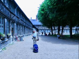 Rouen.Cloister of St-Maclou.June2013