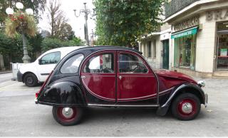 Fontainbleau.stylish car.October2017