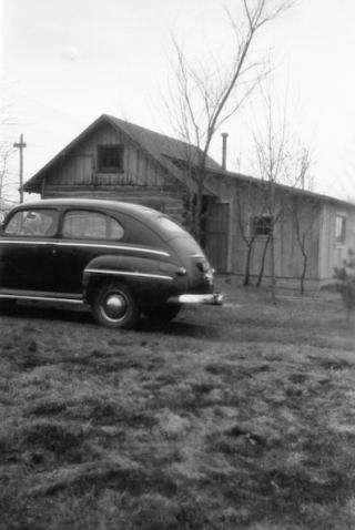 Cabin on the Briggs farm.addition.1946