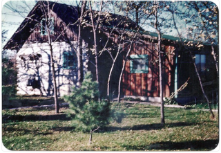 Cabin on Briggs farm.Spring 1948.