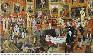 Zoffany.Uffizi gallery.c1770