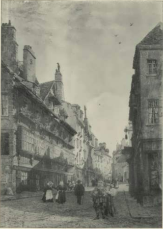 St-Malo.street view.The builder journal.1897