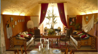 Interior.villa of Sarah Bernhardt
