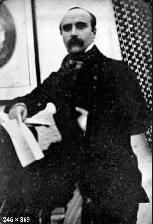 Flaubert at around 25 years