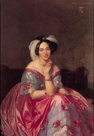 Ingres.Baronne de Rothschild.1848