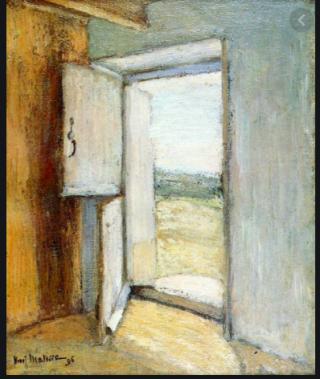 Matisse.The Open Door.Brittany.1896