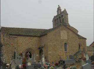 Les Estrets.eglise de Jean-Baptise