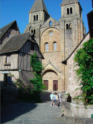 Conques.Abbaye church of St Foy.2007