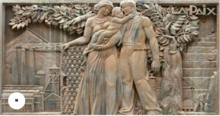Decazeville.monument aux morts.LaPaix