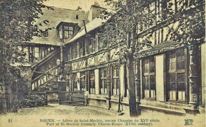 Roeun.L'Aitre St-Maclou.old postcard