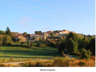Villeret d'Apchier.1 mile beyond le Falzet.Melinda Lusmore.I love walking in France