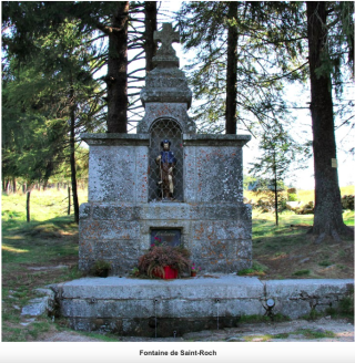 Fountain of Saint Roch.