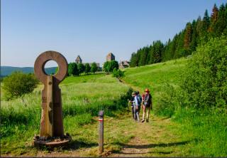 Sentier de Saint-Jacques outside of Aubrac.tourism website