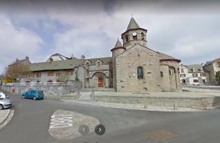 Nasbinals.Eglise de la Saint Mary