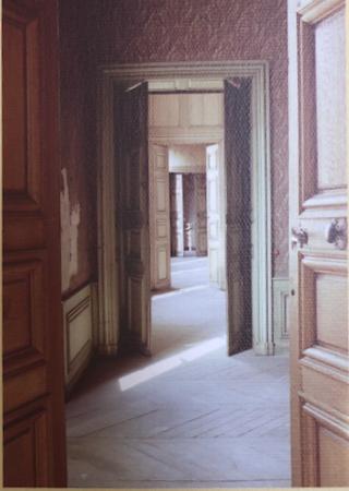 Nancy.Hôtel de Ferrari.enfilade of the left wing.1717-1722