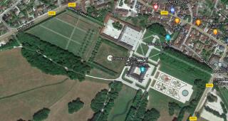 D'Ancy-le-Franc.google maps aerial view