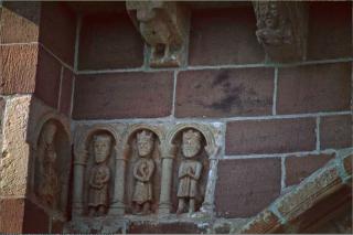 Espalion.chapelle de Perse.The three Kings.
