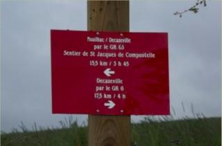 Conques.sign for Decazeville.fredrando