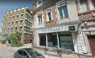 Decazeville.old & new buildings.google maps street view