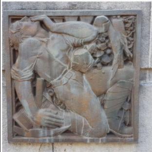 Decazeville.Monument aux Morts.dead soldier